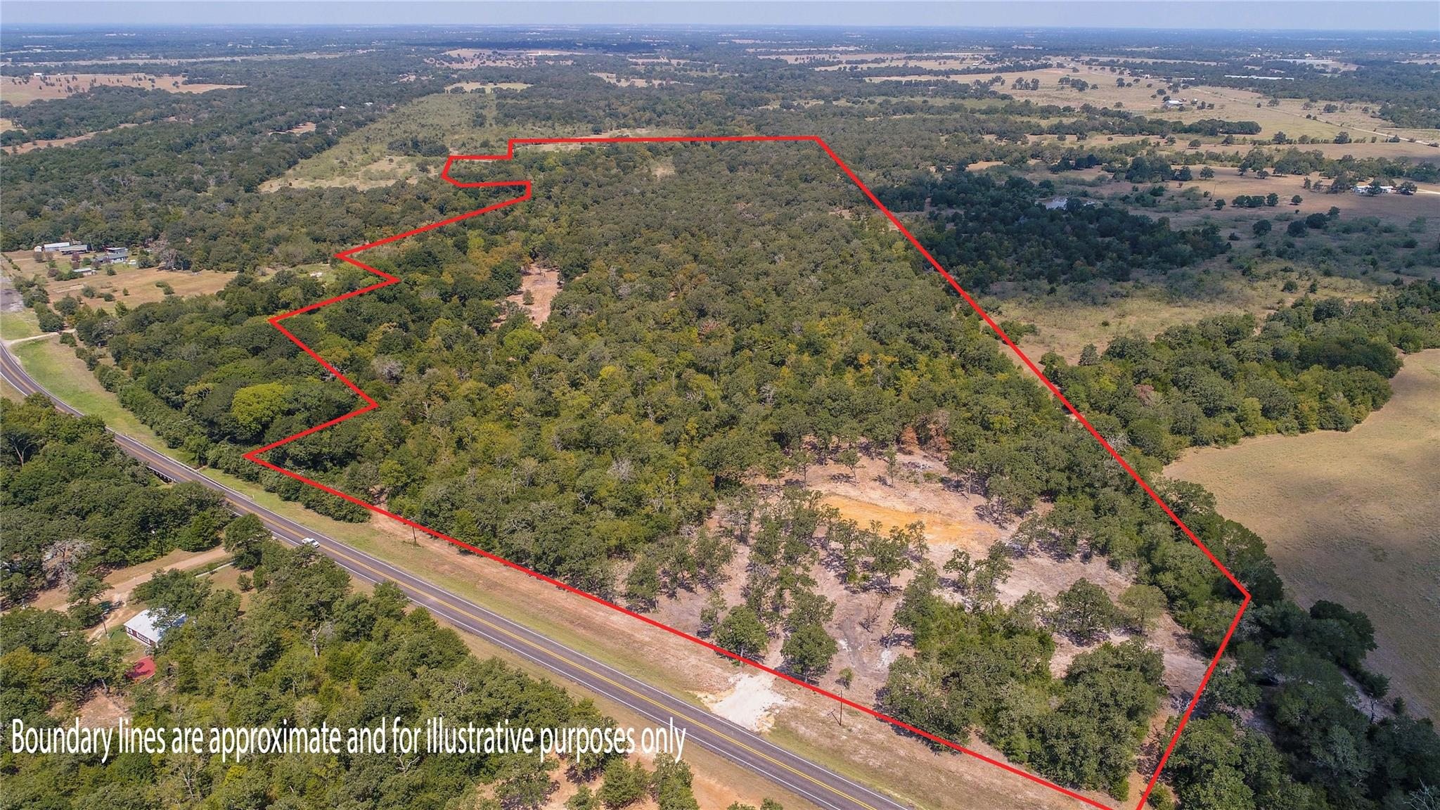 4720 (+/-38 AC) FM 60 Property Photo - Somerville, TX real estate listing