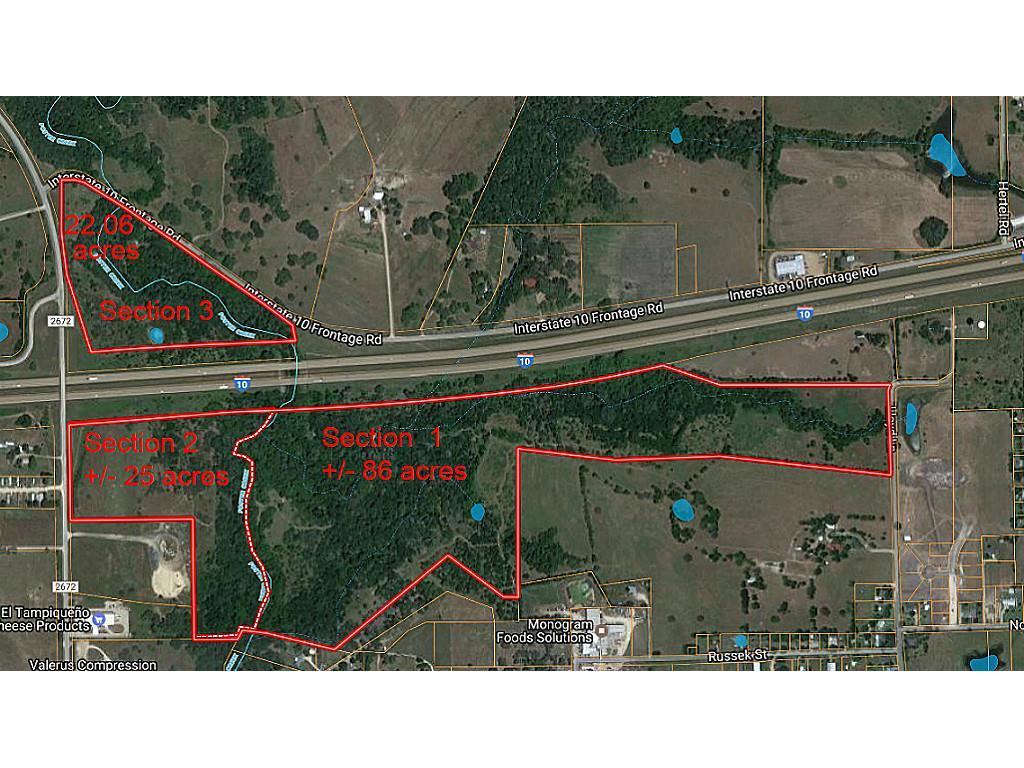 000 FM 2672 & I-10 Property Photo - Schulenburg, TX real estate listing