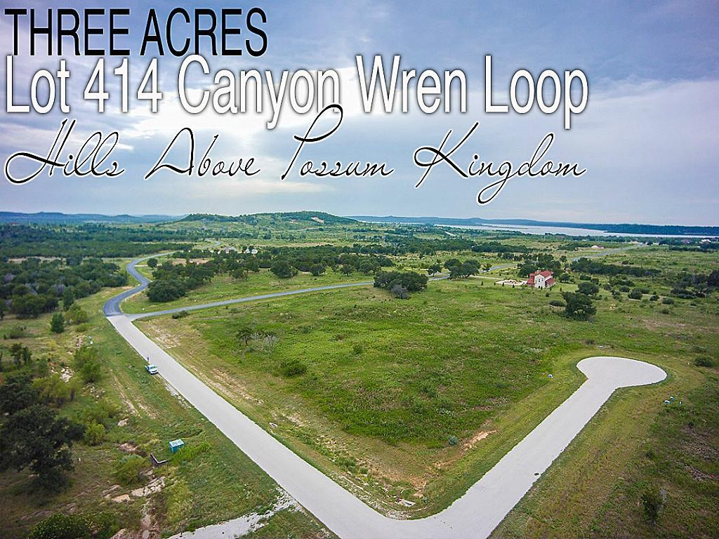 Lot 414 Canyon Wren Loop, Graford, TX 76449 - Graford, TX real estate listing