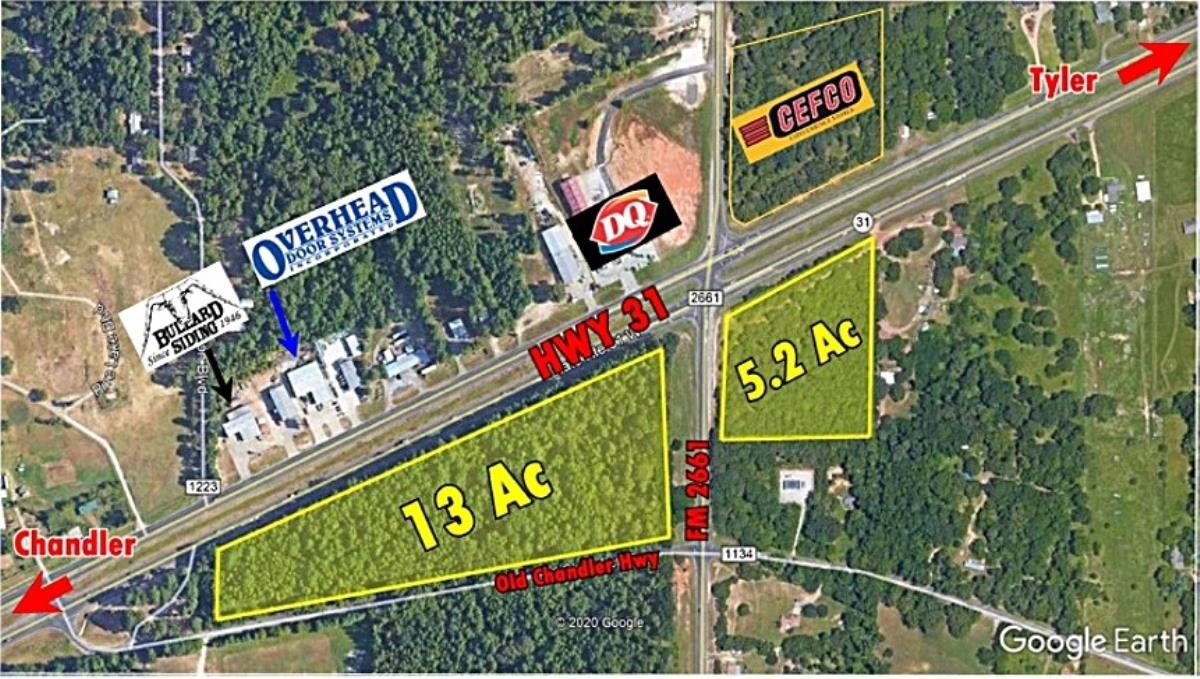 16393 W HWY 31 Property Photo - Tyler, TX real estate listing