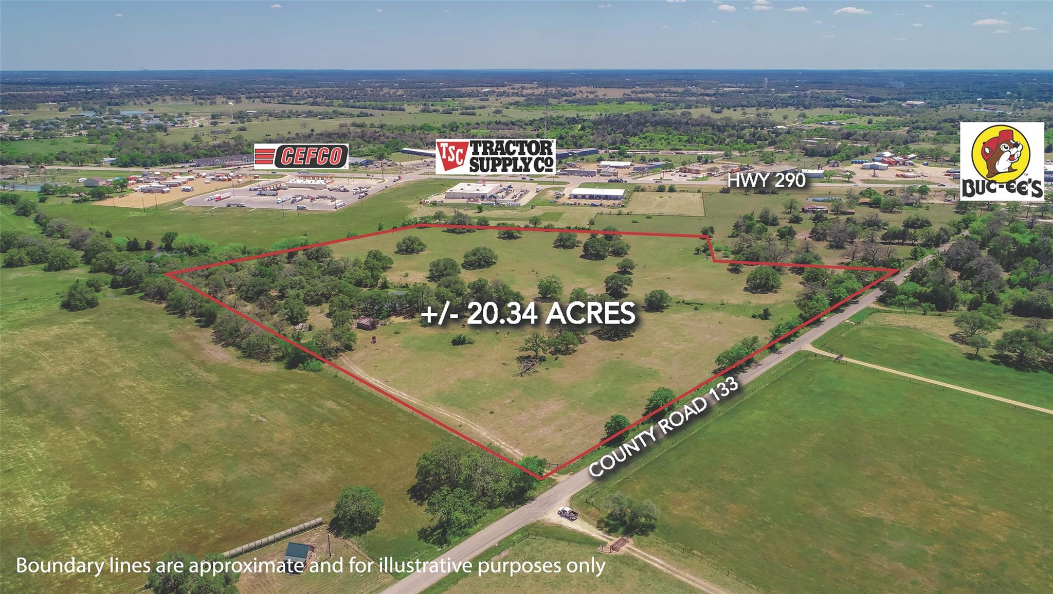 TBD County Rd 133 Property Photo - Giddings, TX real estate listing