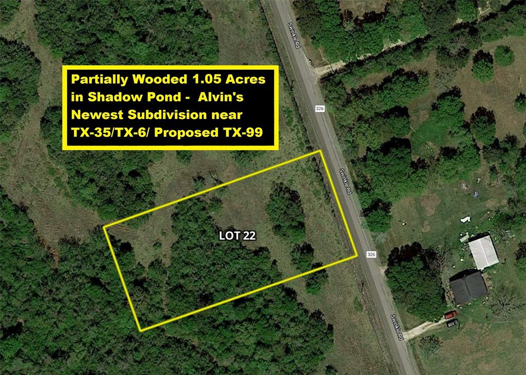 Lot 22 County Road 326 Property Photo - Alvin, TX real estate listing