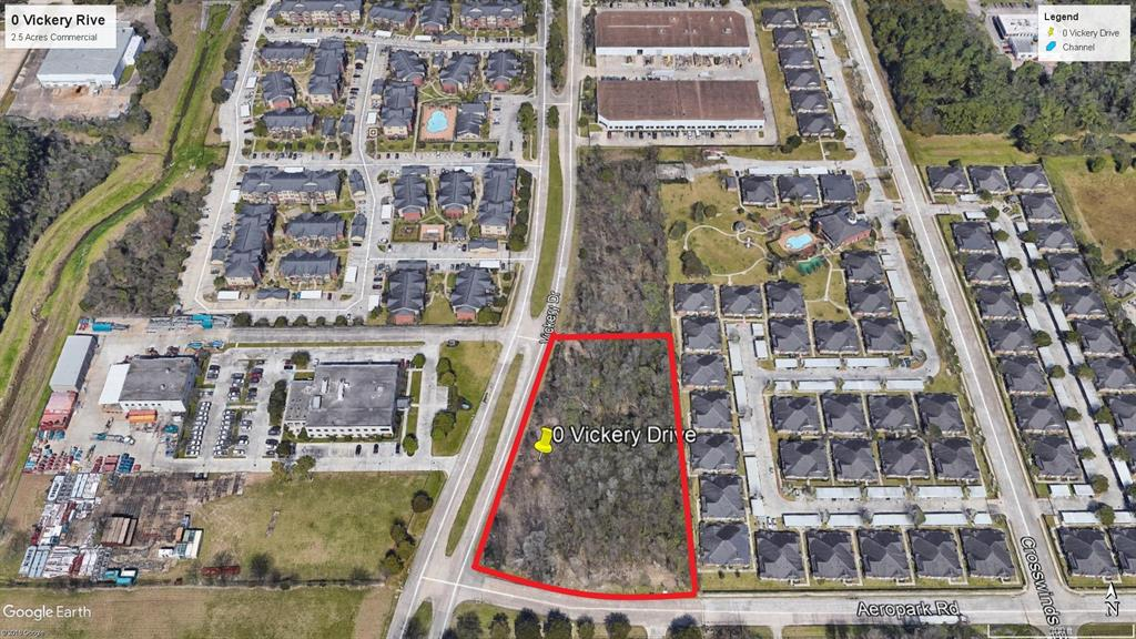 0 Vickery Drive Property Photo - Houston, TX real estate listing