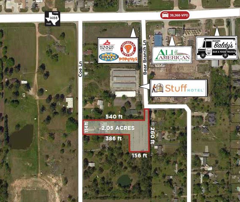 0 Coe Lane Property Photo - Magnolia, TX real estate listing