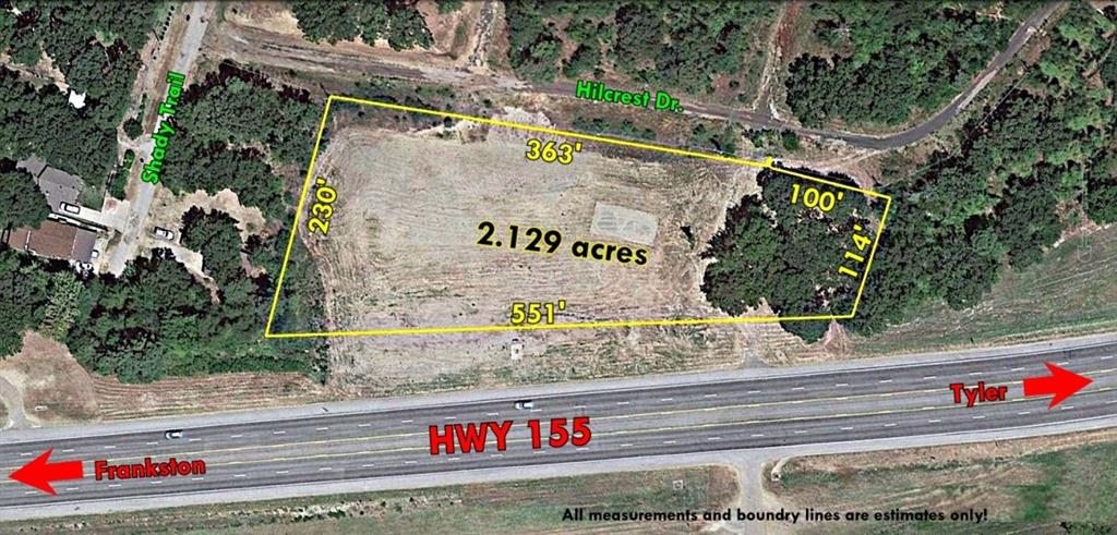 22546,HWY 155,, Flint, TX 75762 - Flint, TX real estate listing