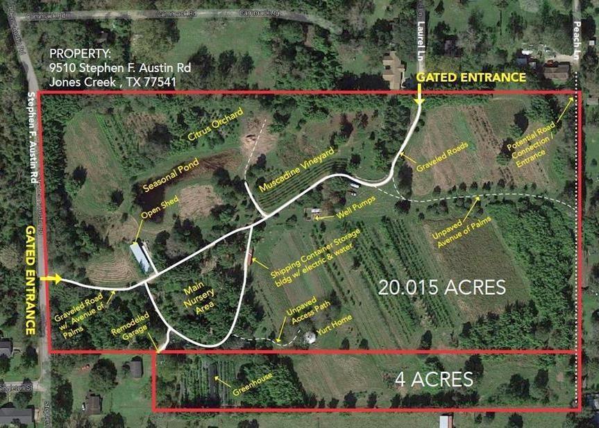 9310 Stephen F Austin Road Property Photo - Jones Creek, TX real estate listing