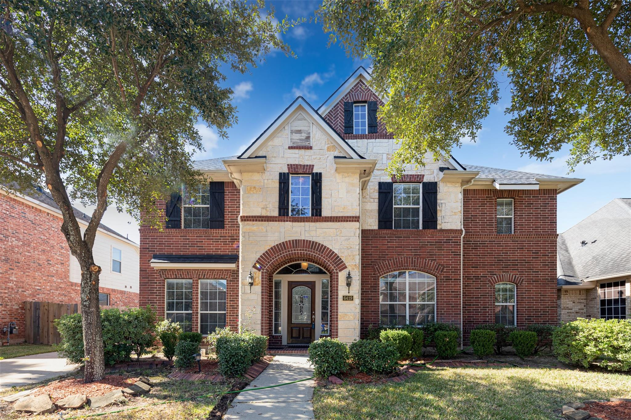6419 Silver Crescent Drive Property Photo - Houston, TX real estate listing