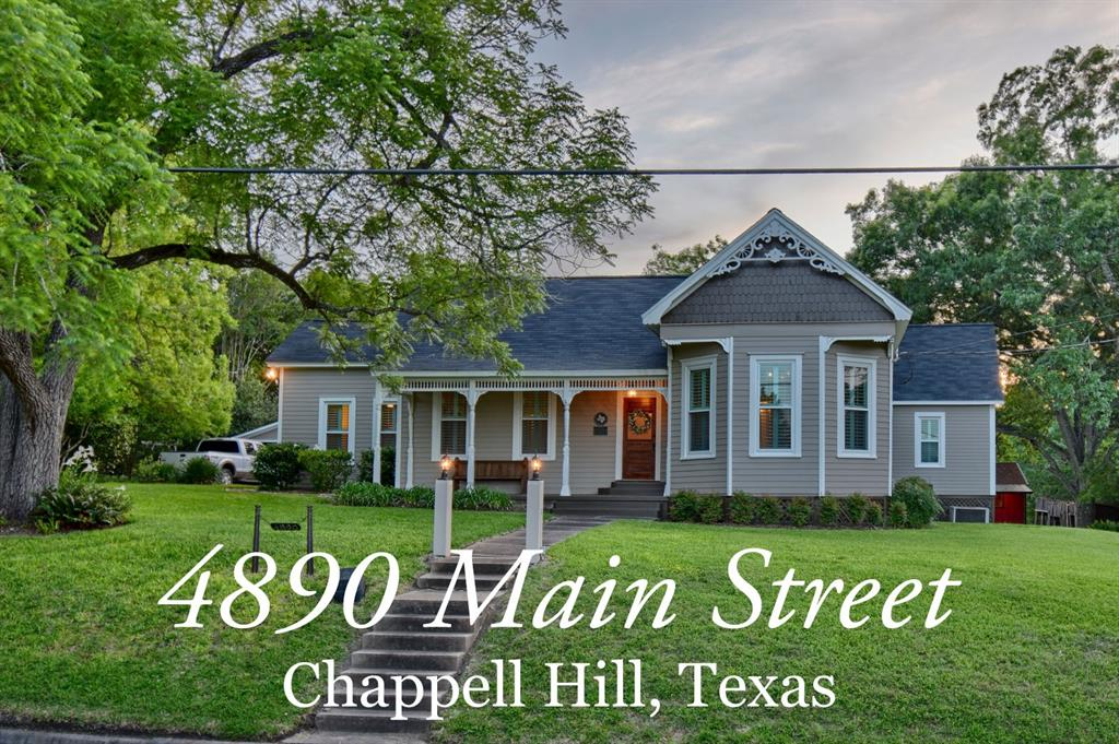 4890 Main Street Property Photo - Chappell Hill, TX real estate listing