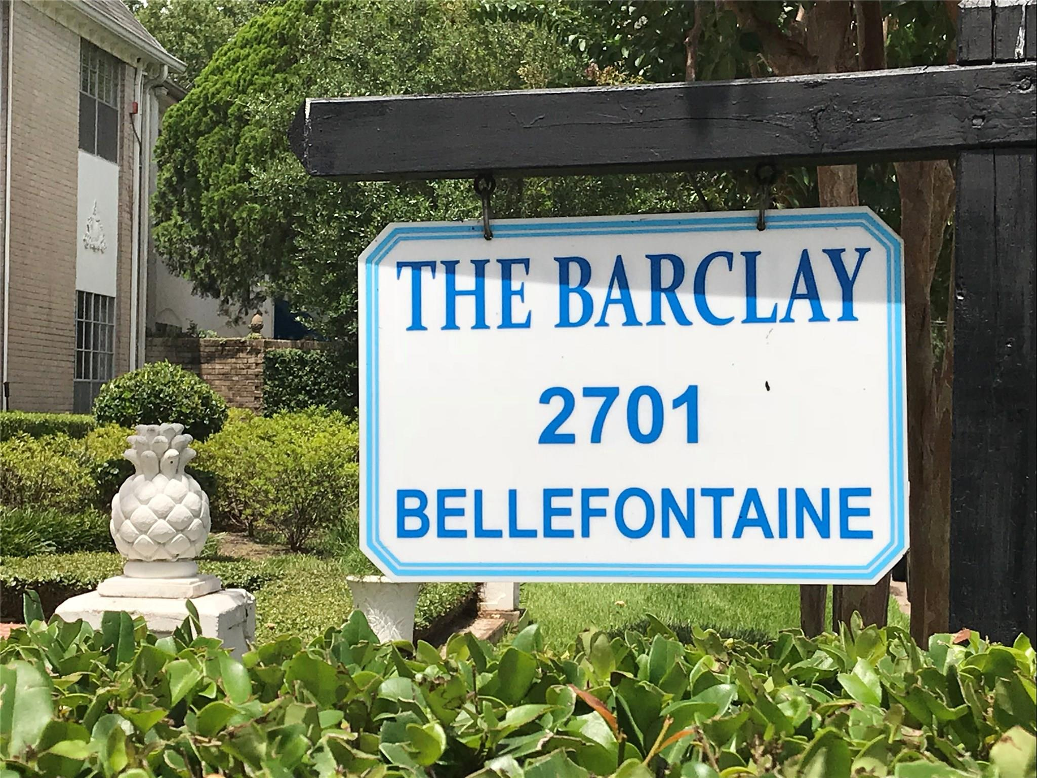 2701 Bellefontaine Street #B8 Property Photo