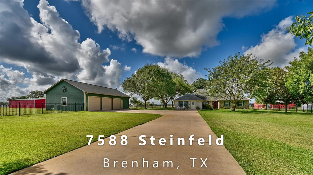 7588 Steinfeld Lane Property Photo - Brenham, TX real estate listing
