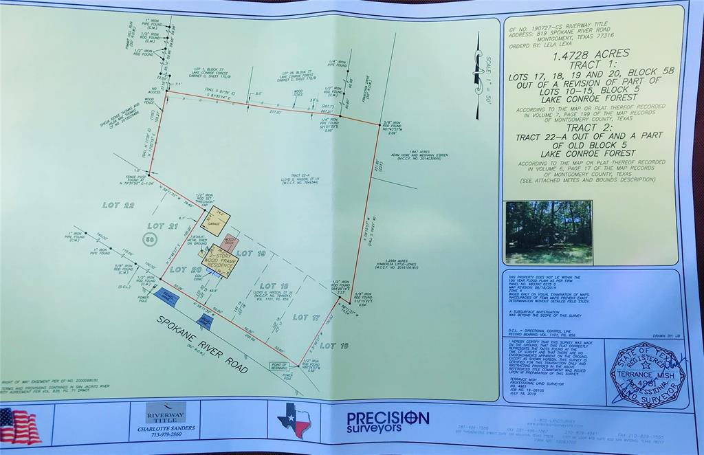 000 SpokaneRiver Road Property Photo - Montgomery, TX real estate listing