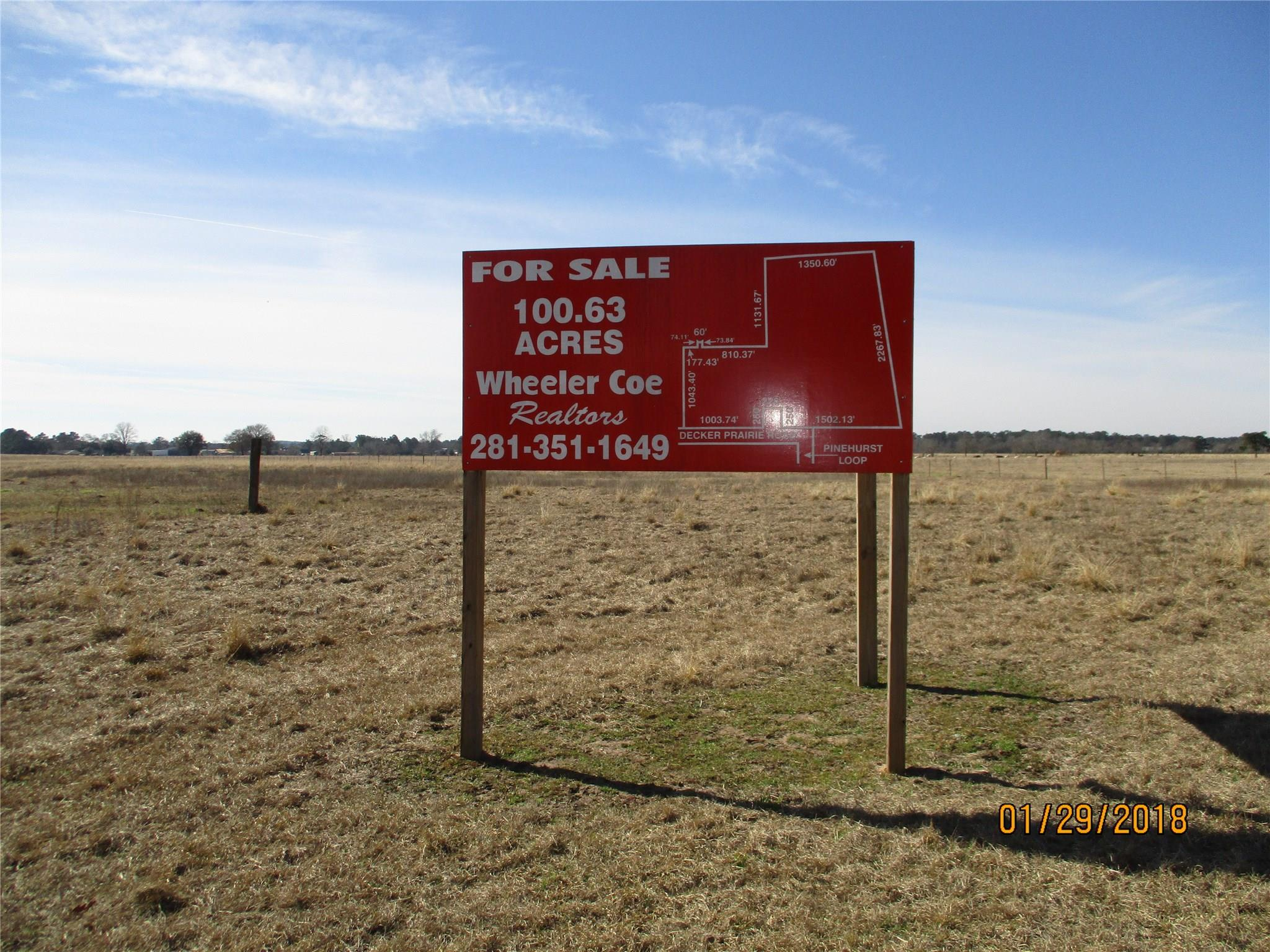 TBD Decker Prairie Road Property Photo - Magnolia, TX real estate listing