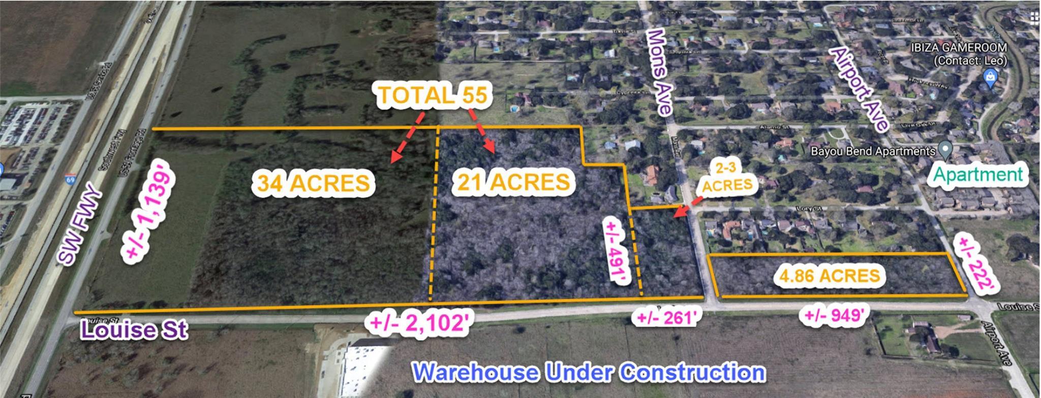 0 Louise Street Property Photo - Rosenberg, TX real estate listing