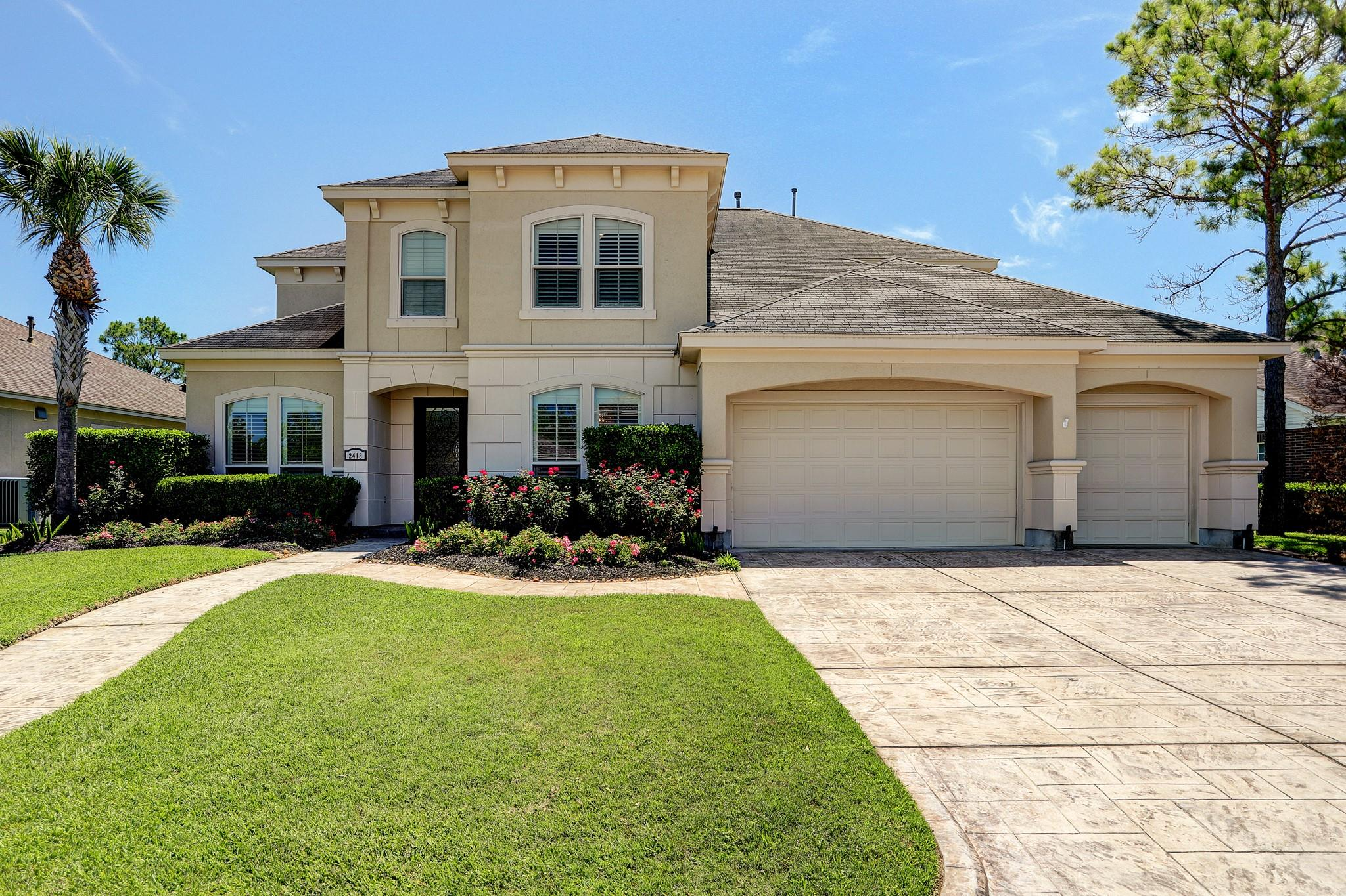 2418 Masters Drive Property Photo - League City, TX real estate listing