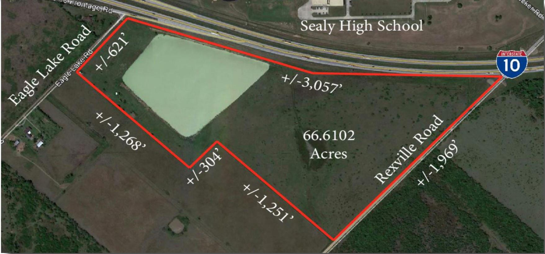 0 I-10 Frontage Road Property Photo - Sealy, TX real estate listing