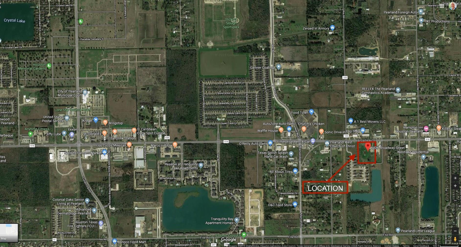 6826 Broadway Street Property Photo - Pearland, TX real estate listing