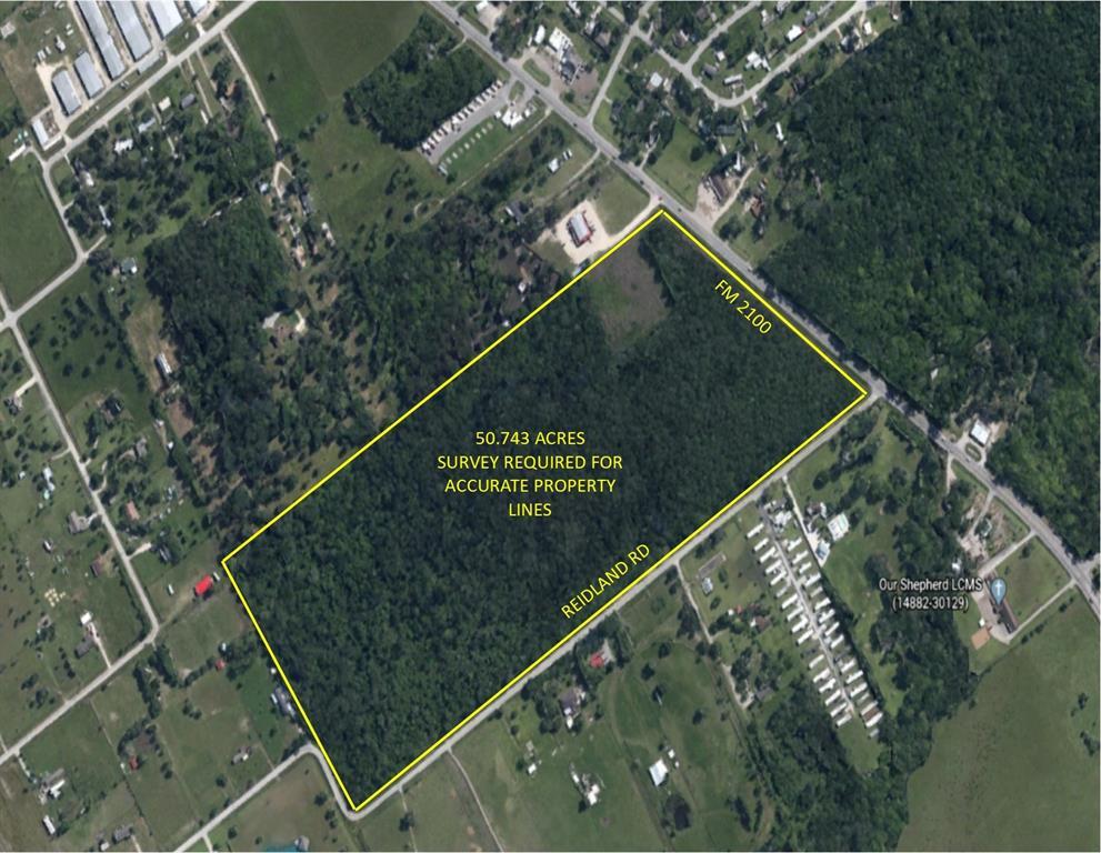 50.743 Acres Fm 2100 Road, Crosby, TX 77532 - Crosby, TX real estate listing