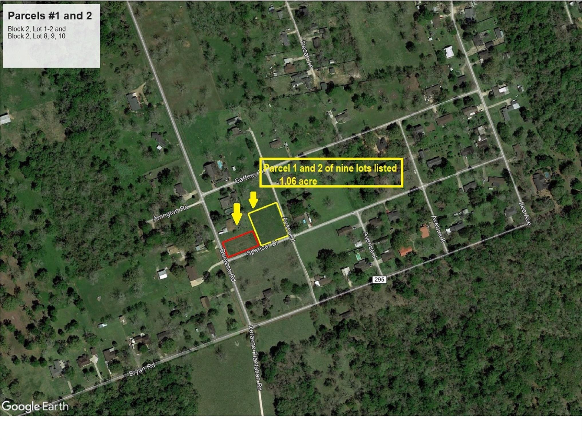 0 Avenue I P1-2 Property Photo - Jones Creek, TX real estate listing