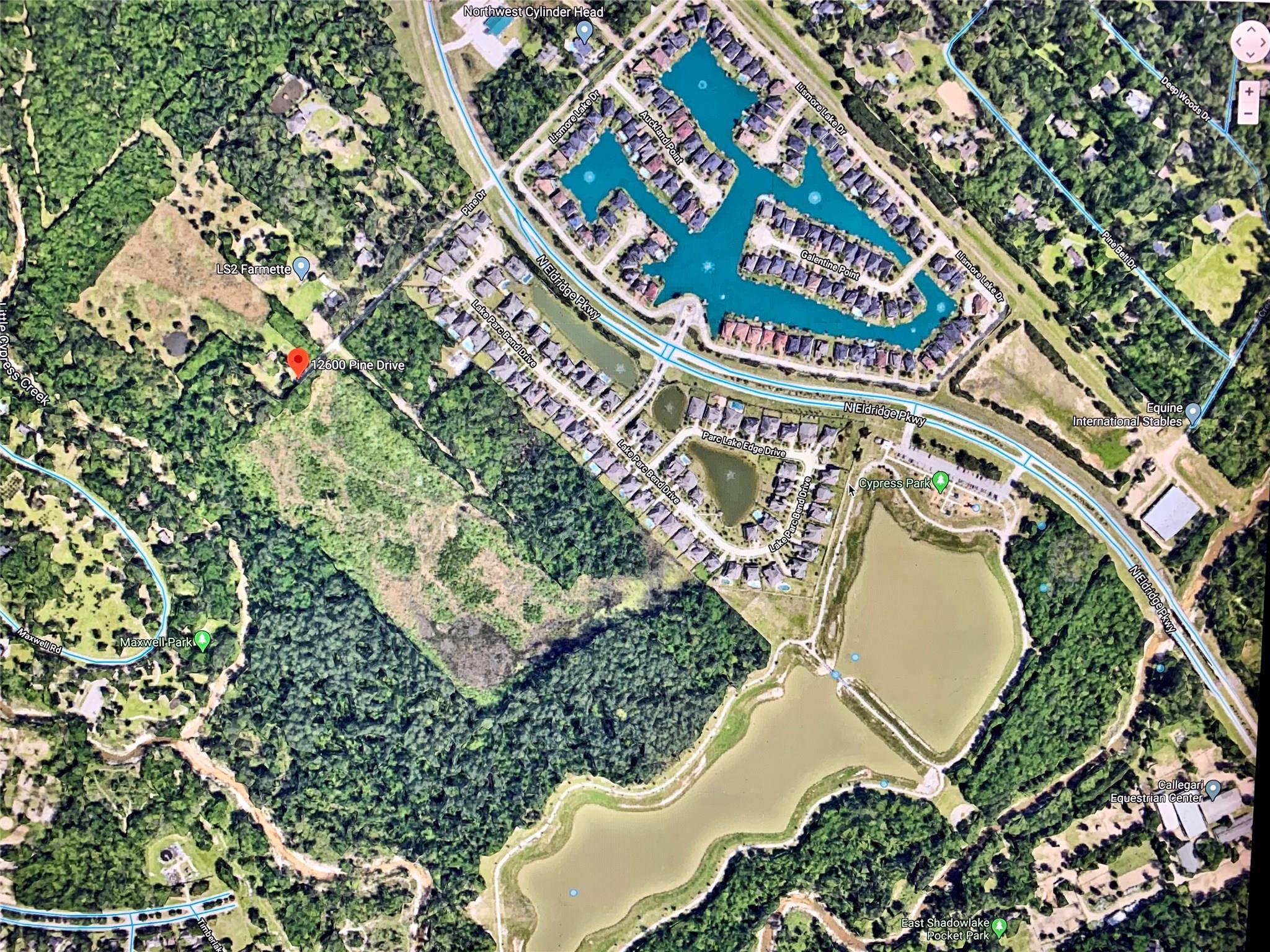 12600 Pine Drive Property Photo - Cypress, TX real estate listing