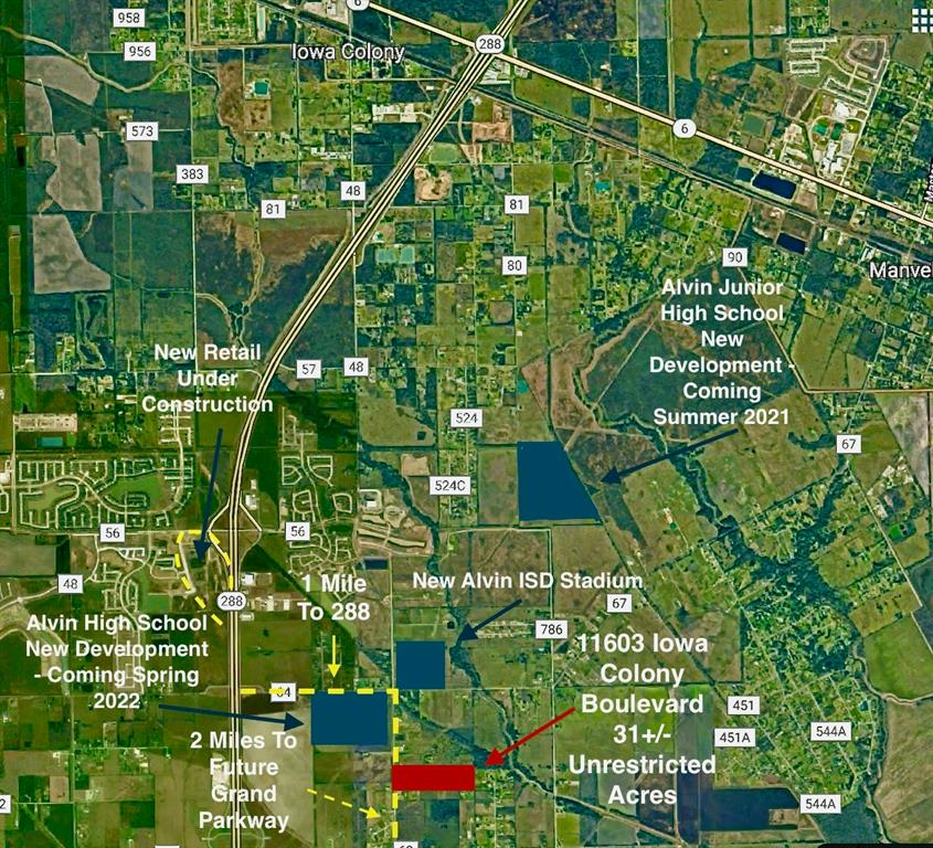 11603 Iowa Colony boulevard Property Photo - Rosharon, TX real estate listing