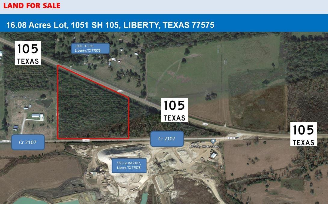 1051 1051 SH 105 Liberty Property Photo - Liberty, TX real estate listing