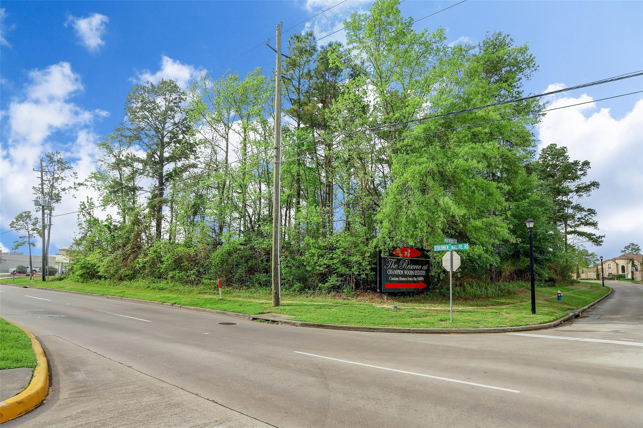 1.275 acre Stuebner Airline Road Property Photo - Spring, TX real estate listing