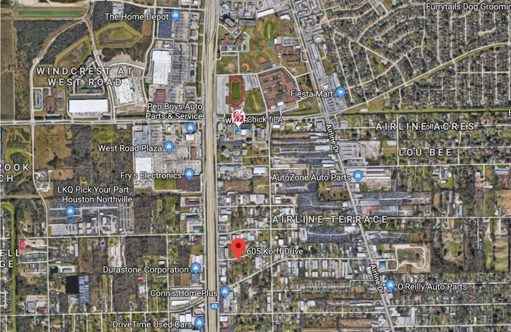 605,609 Korff Drive Property Photo - Houston, TX real estate listing