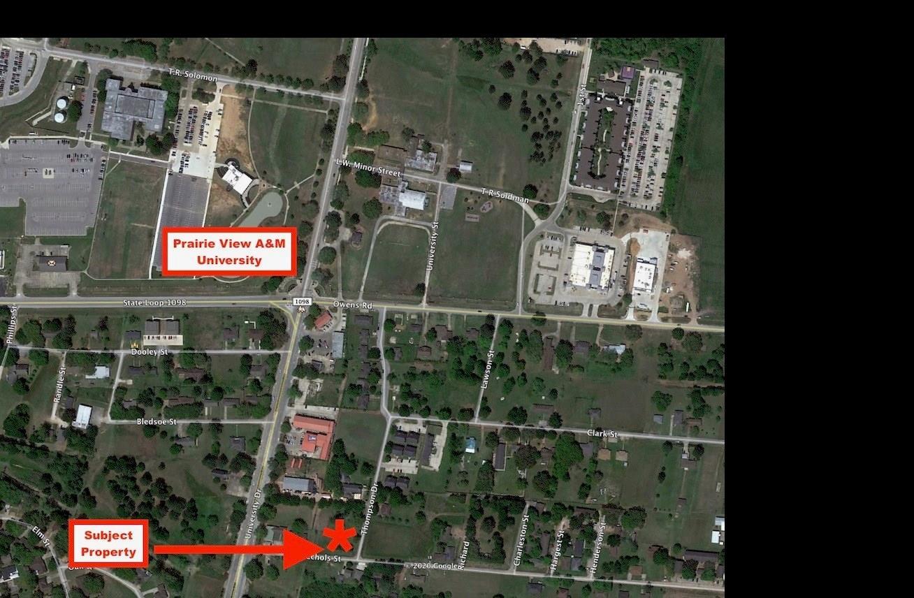 0 Thompson Drive Property Photo - Prairie View, TX real estate listing