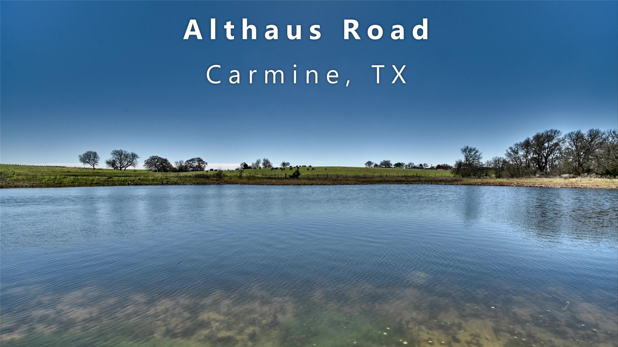 000 Althaus Road Property Photo - Carmine, TX real estate listing