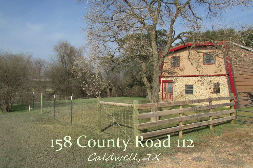 158 County Road 112 Property Photo - Caldwell, TX real estate listing