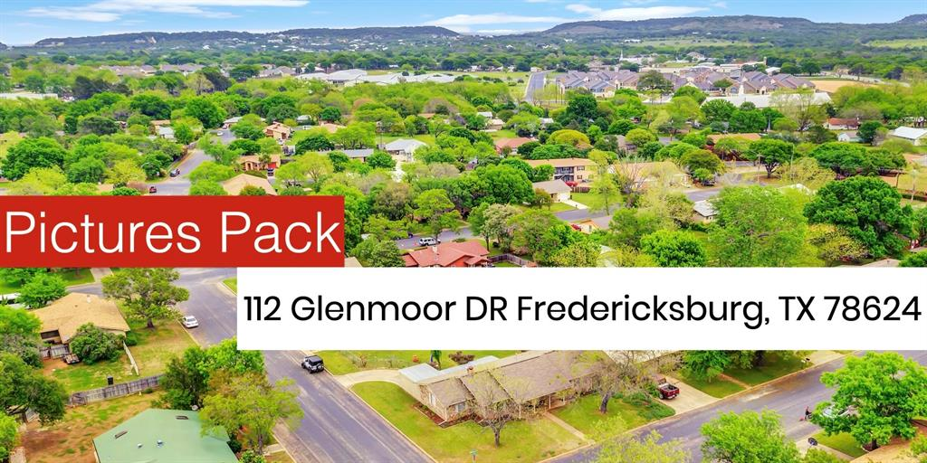 112 Glenmoor Drive Property Photo - Fredericksburg, TX real estate listing