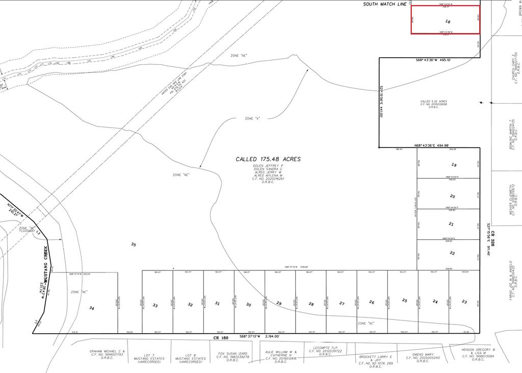 Lot 18 County Road 326 Property Photo - Alvin, TX real estate listing