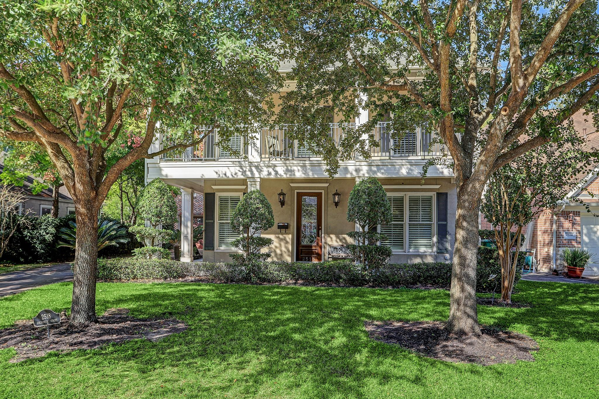 2518 Goldsmith Street Property Photo - Houston, TX real estate listing