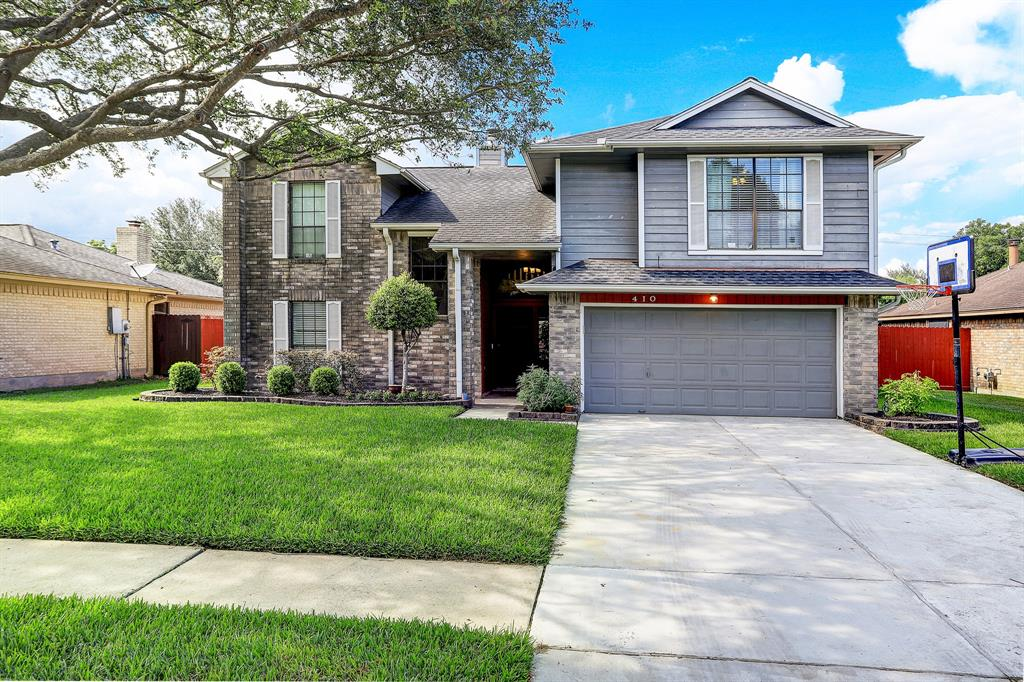 410 Kingston Court Property Photo - Deer Park, TX real estate listing