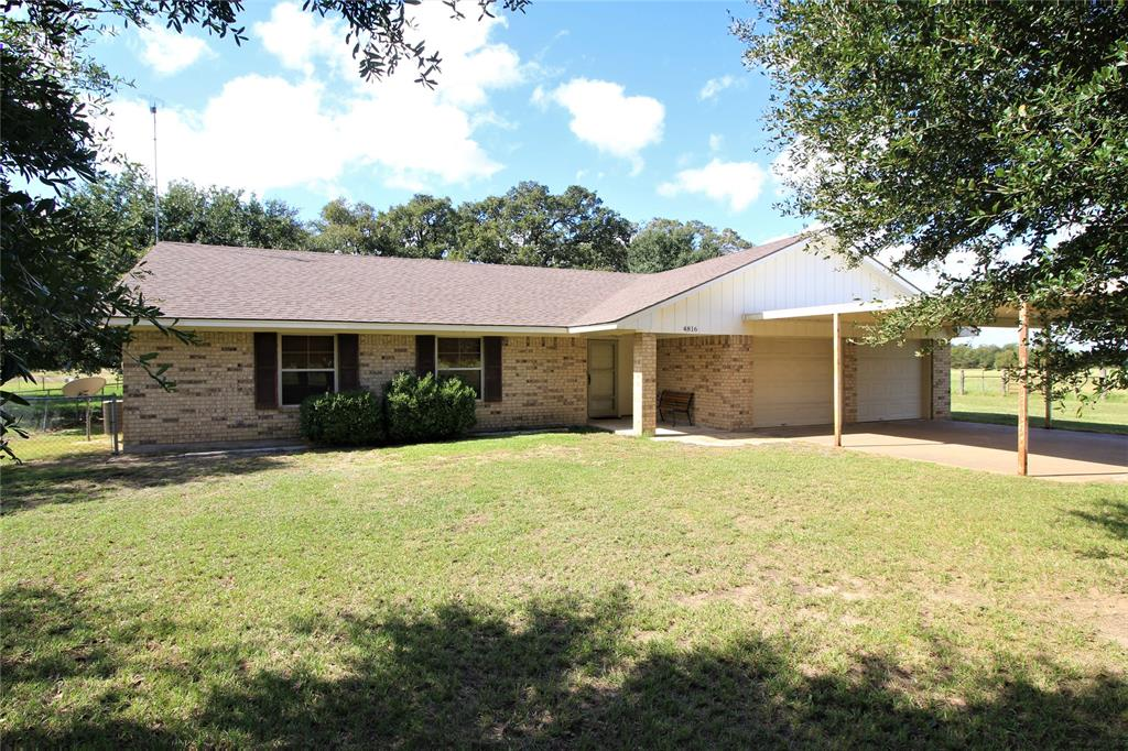 4816 Elmo Road, Calvert, TX 77837 - Calvert, TX real estate listing