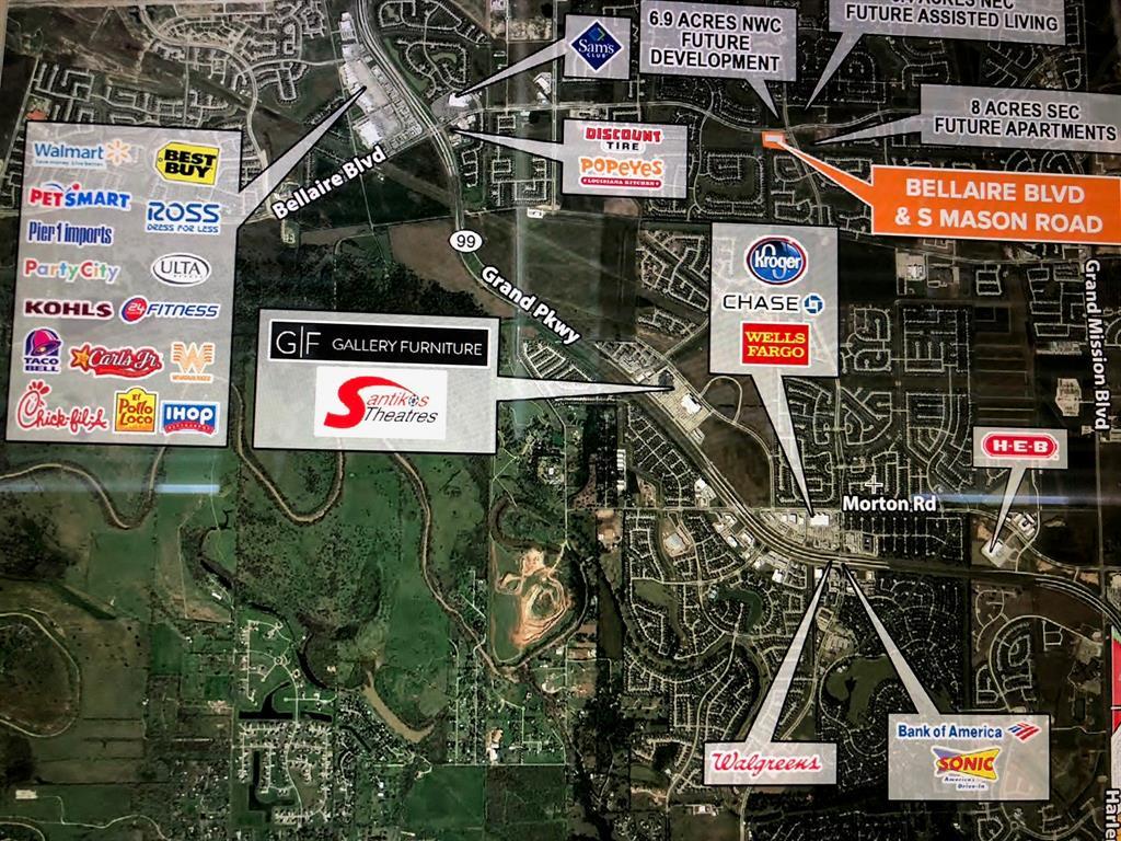 0 BELLAIRE BLVD AT MASON RD Property Photo - Richmond, TX real estate listing