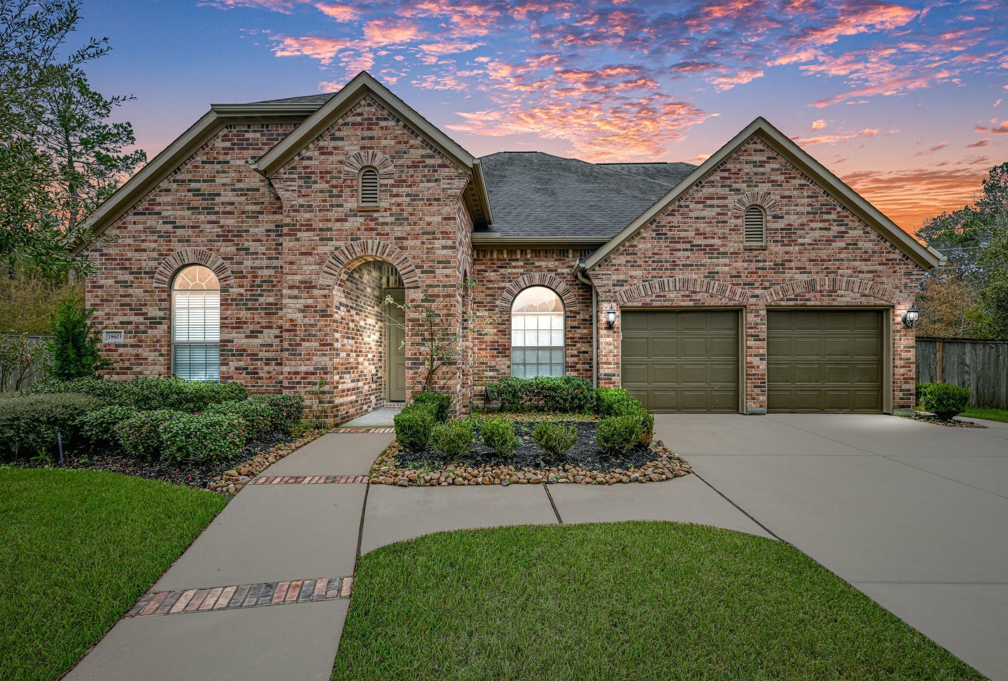 18603 Landrum Point Lane Property Photo - Spring, TX real estate listing
