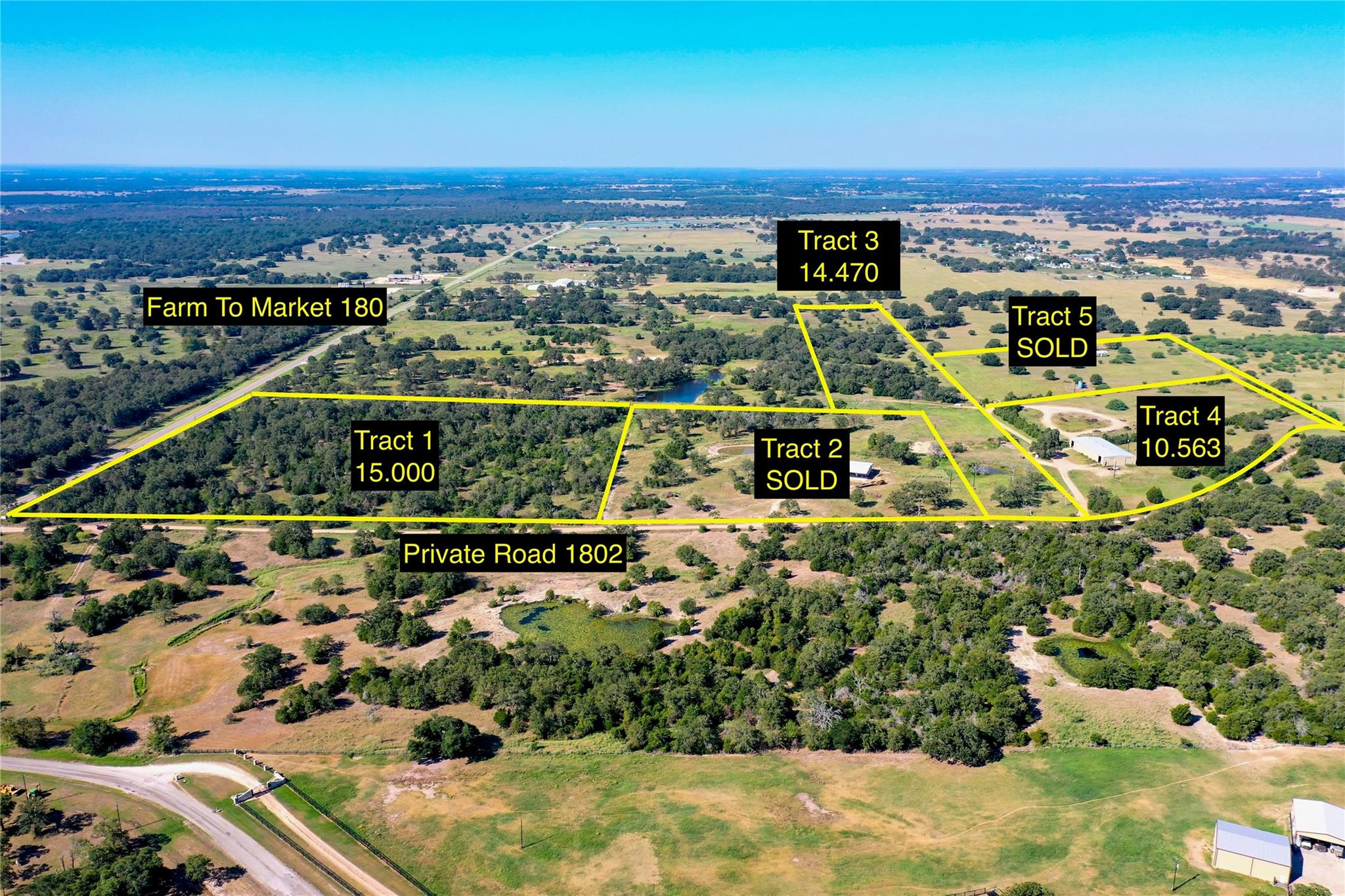 TBD Fm 180 Property Photo - Ledbetter, TX real estate listing