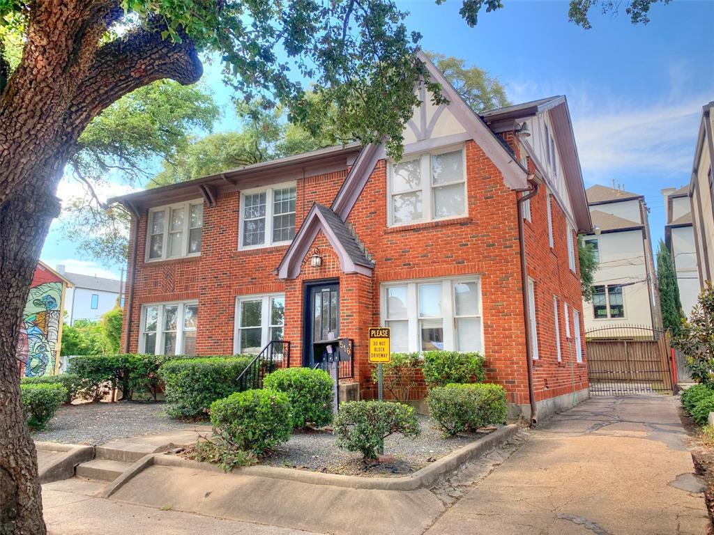 516 W Gray #3 Property Photo - Houston, TX real estate listing