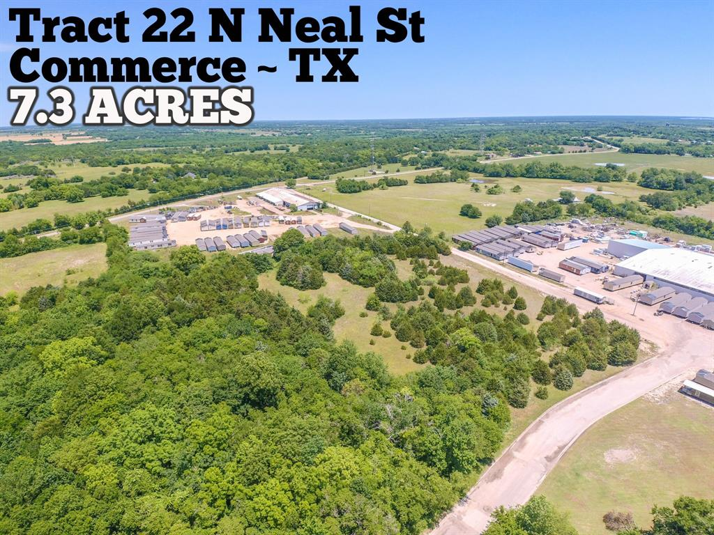 Tract 22 N Neal Street Property Photo - Commerce, TX real estate listing