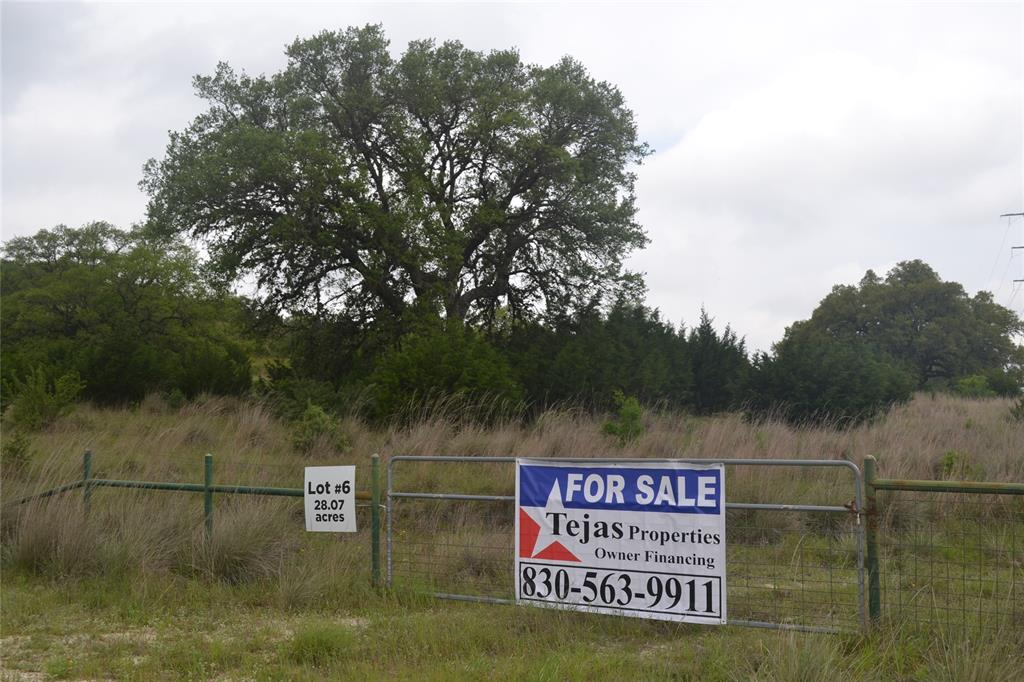 LOT 6 Busby Lane Property Photo - Boerne, TX real estate listing
