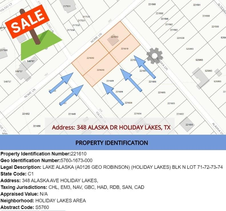 348 Alaska Avenue Property Photo - Holiday Lakes, TX real estate listing