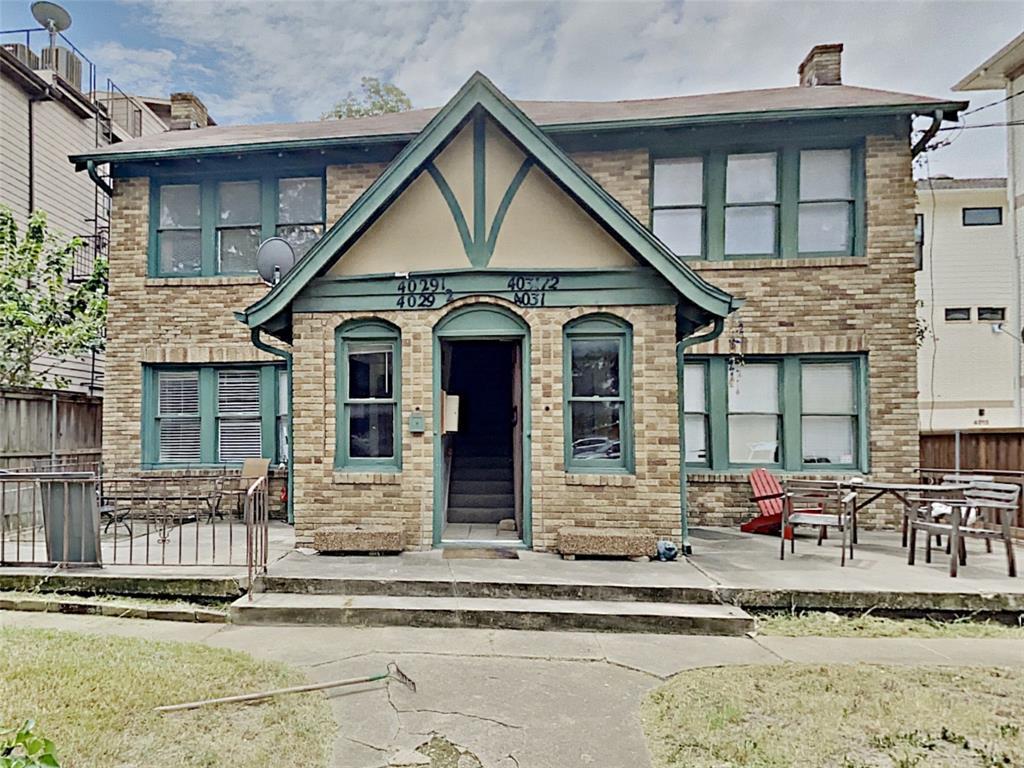 4029.5 Rawlins Street Property Photo - Dallas, TX real estate listing