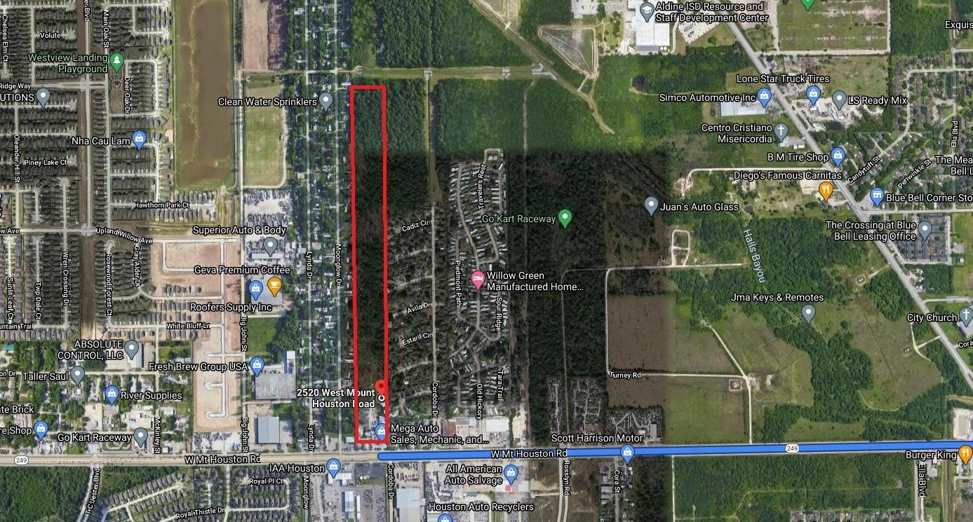 2520 W Mount Houston Road Property Photo - Houston, TX real estate listing