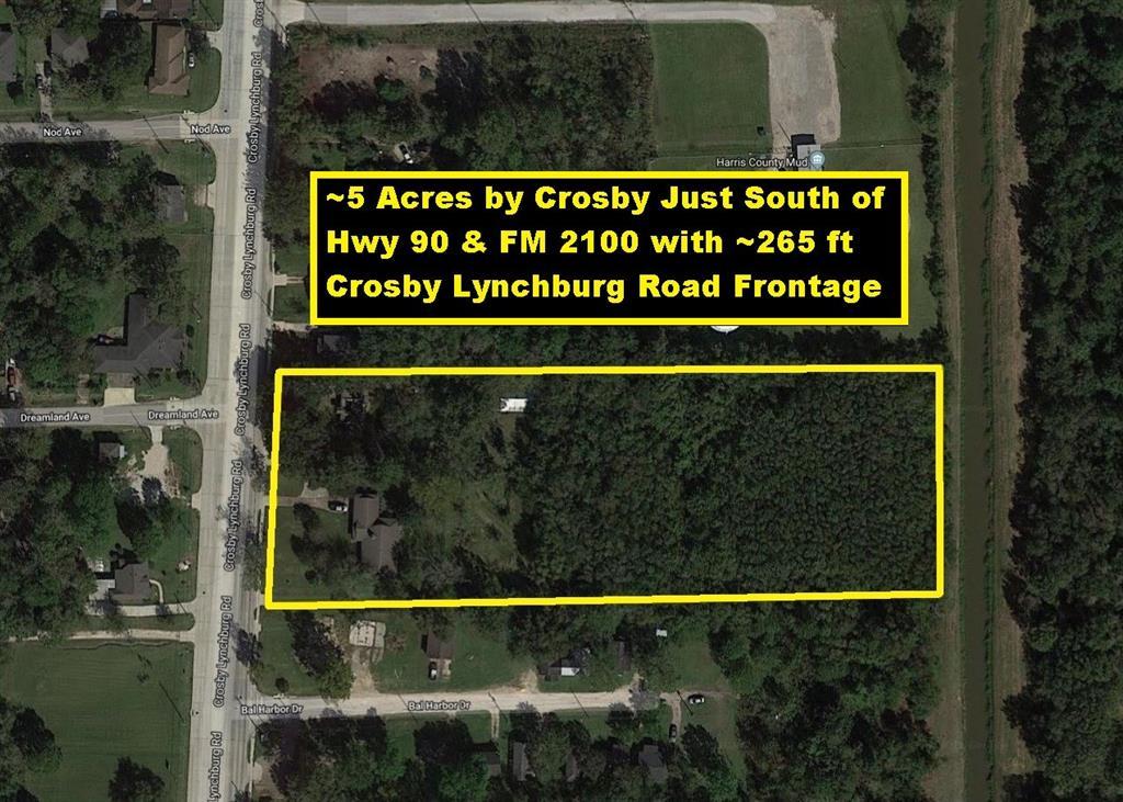 12802 Crosby Lynchburg Road Property Photo - Crosby, TX real estate listing