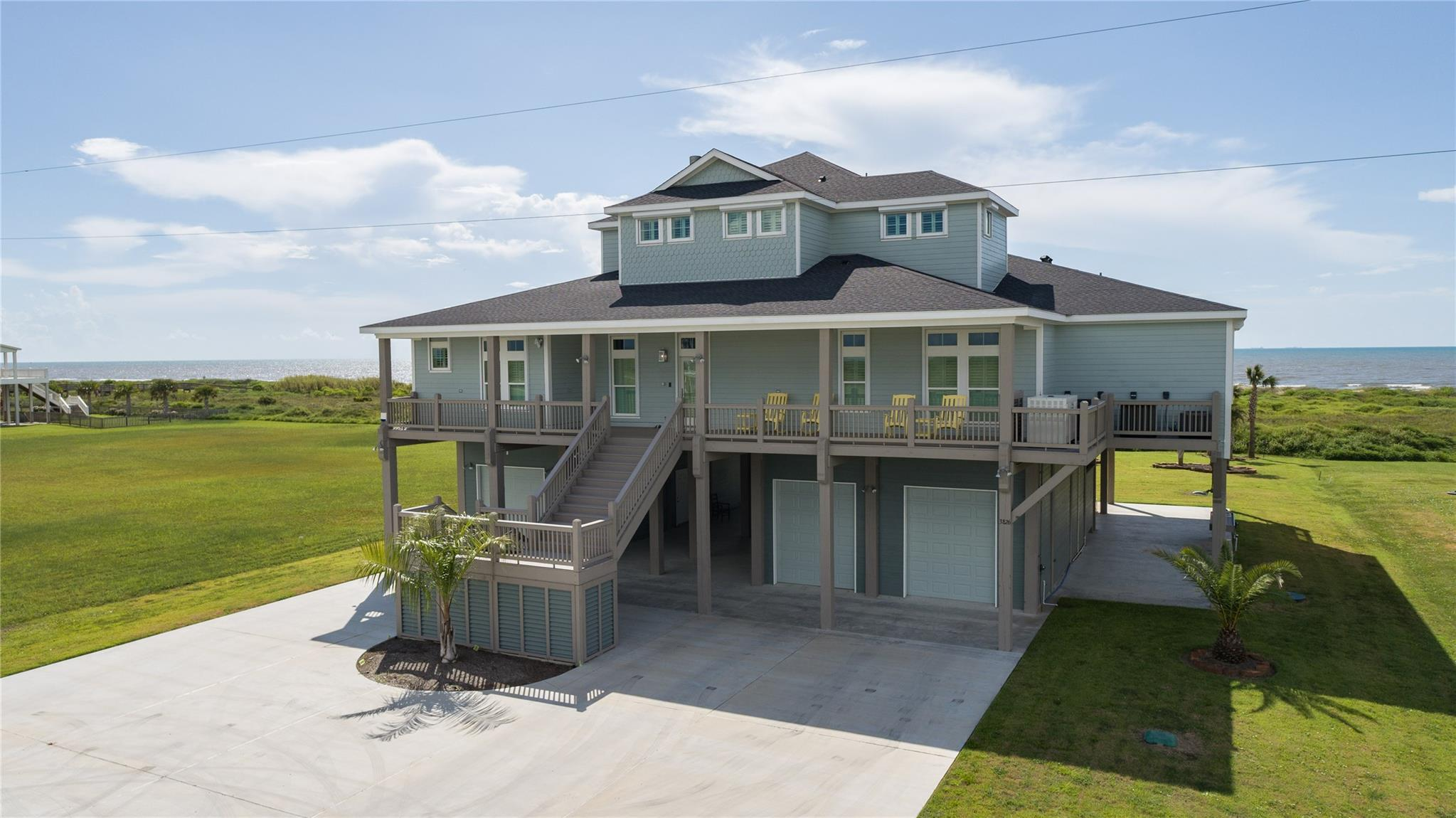 3826 Biscayne Beach Road Property Photo - Port Bolivar, TX real estate listing