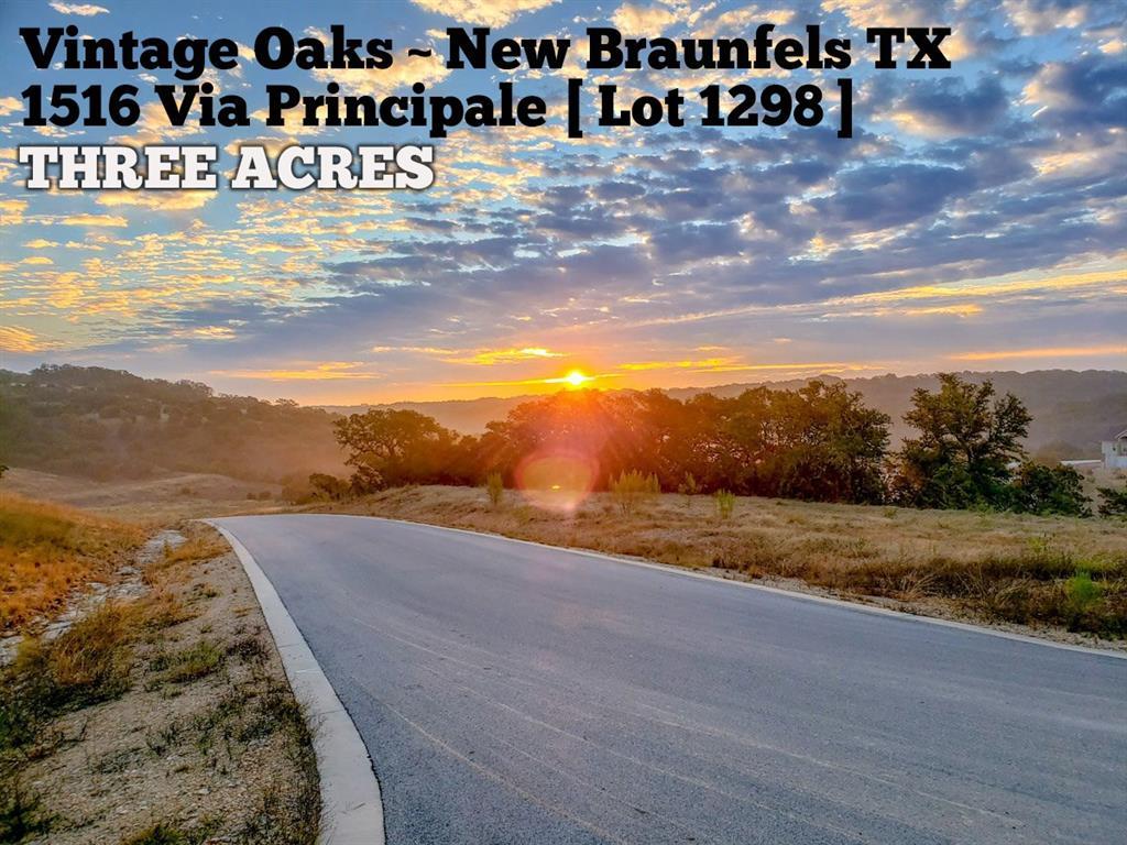 1516 Via Principale Property Photo - New Braunfels, TX real estate listing