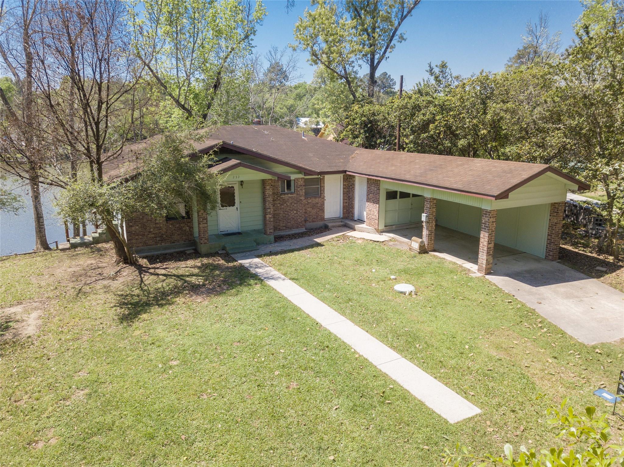 232 Hideaway Lane Property Photo - Goodrich, TX real estate listing