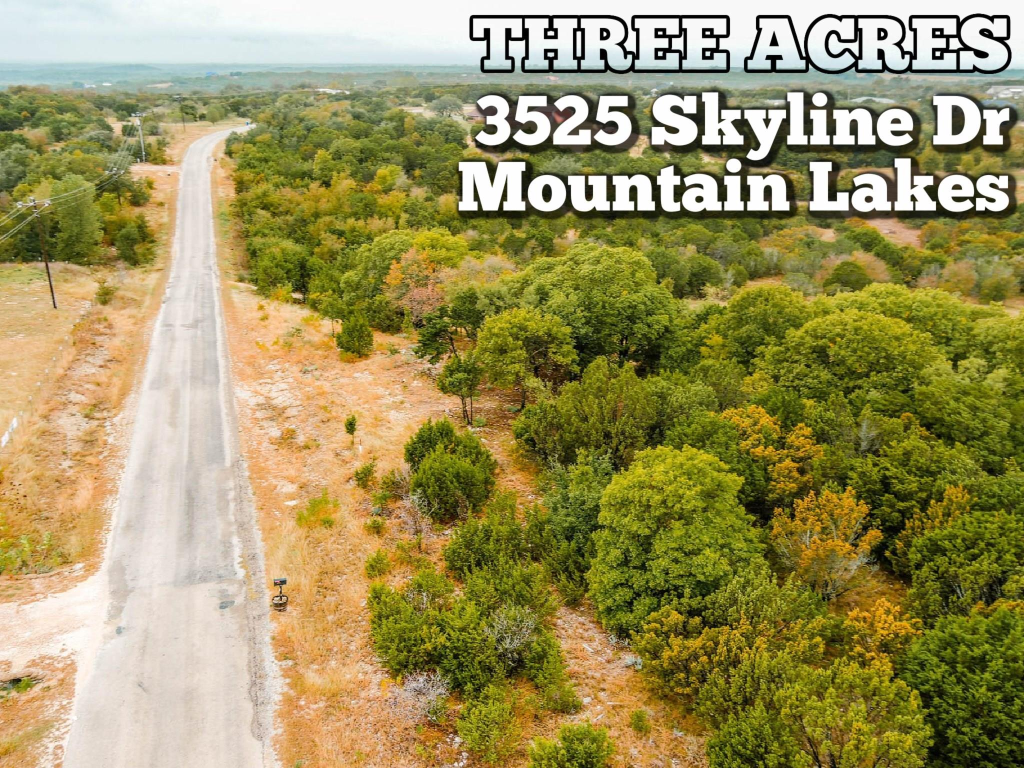 3525 Skyline Drive Property Photo - Bluff Dale, TX real estate listing