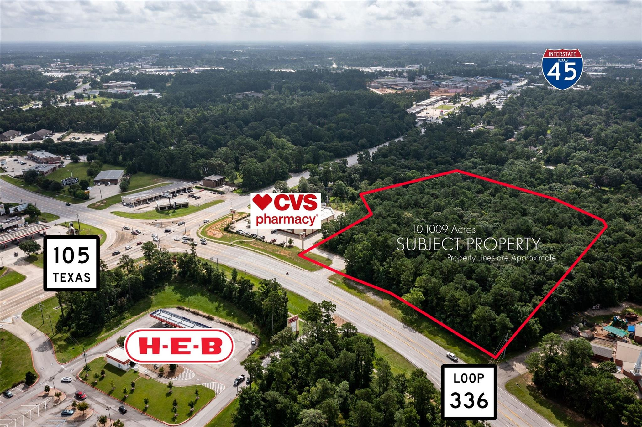10 Acres Sw Loop 336 Property Photo 1